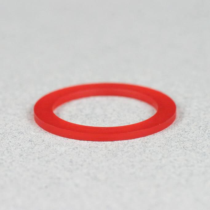 22-rot transparent