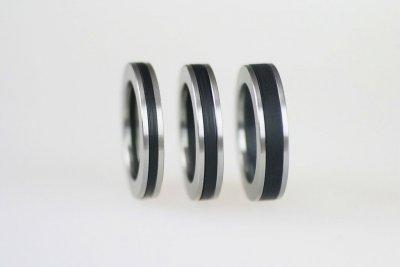Acrylringe, 1mm, 2mm und 3mm Breite